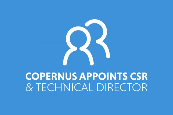 Copernus appoints Master of Science as CSR & Technical Director